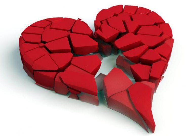 Corazón a cachitos