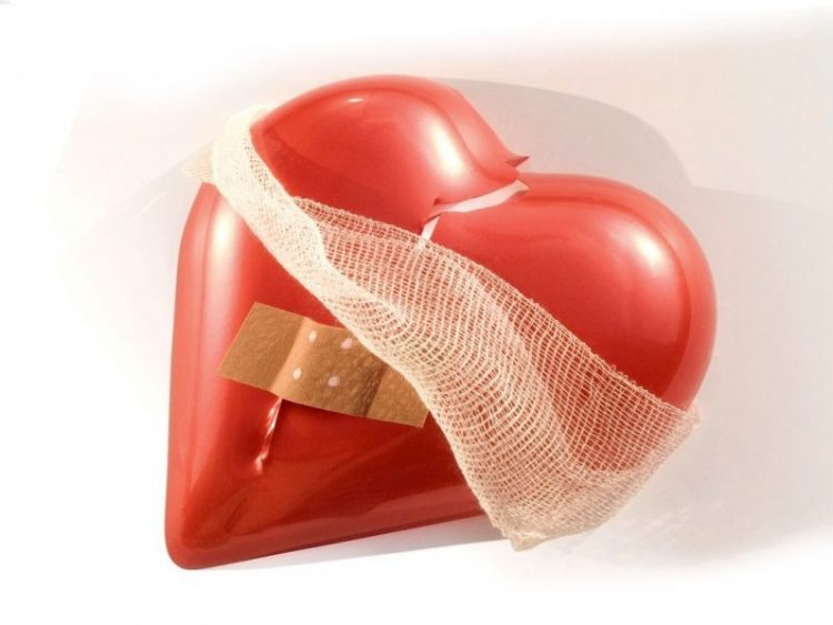 Corazón triste