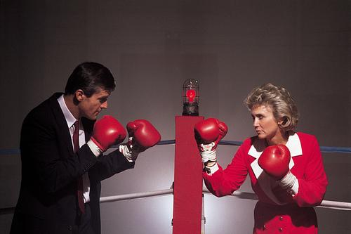 Boxeo entre parejas