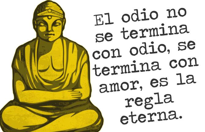 Buda el odio y el amor