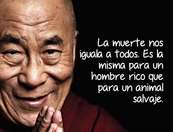 El Dalai Lama nos ha dado lecciones que debemos seguir.