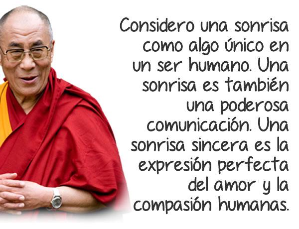 Frases bonitas del Dalai Lama