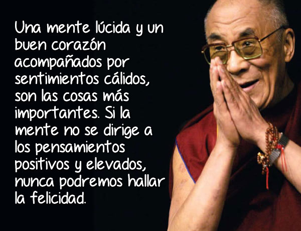 El Dalai Lama y sus lecciones