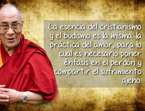 Frase célebre del Dalai Lama sobre el cristianismo