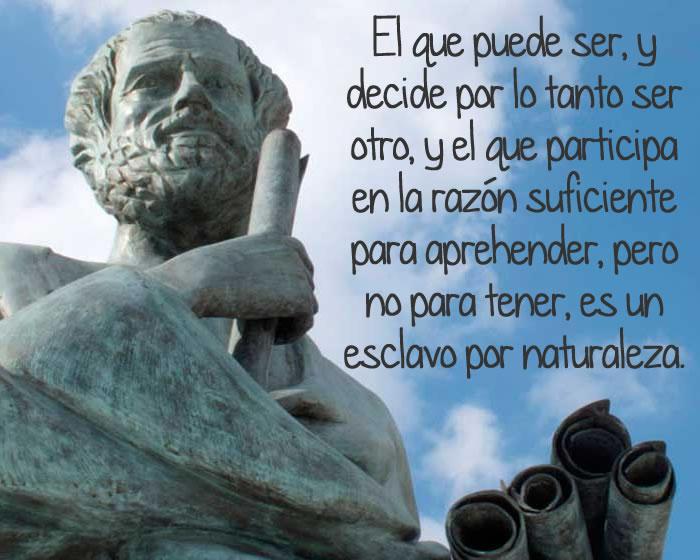 Aristóteles y el exclavo de la naturaleza