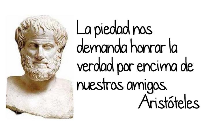 Aristóteles y la piedad