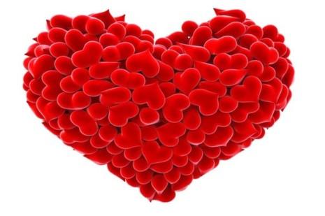 Corazón de amor para enamorados