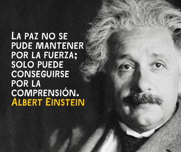 Frase célebre de Einstein