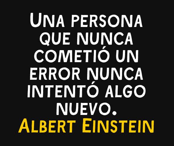 Imagen de Frase de Einstein