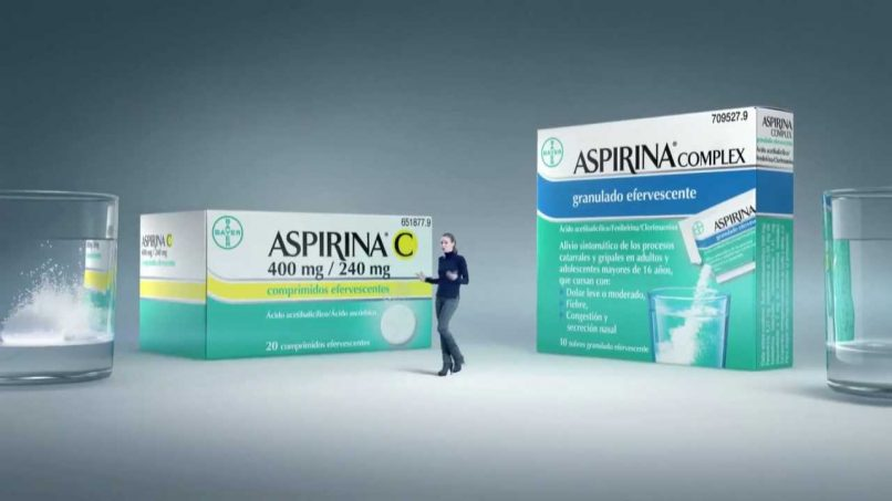Aspirinas de Bayer
