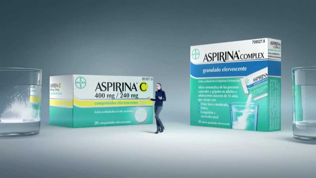 Aspirinas de Bayer