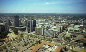 Nairobi capital de Kenia