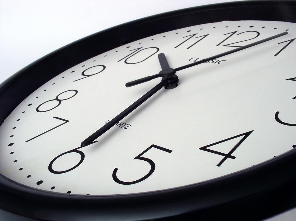¿Cuando hay que cambiar la hora?
