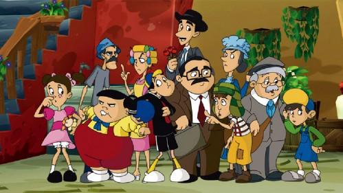 Versión de dibujos animados de El Chavo