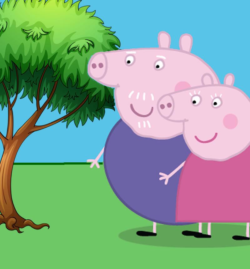 Abuelos de Peppa Pig