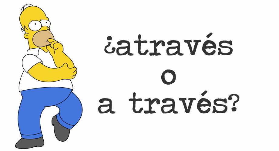 atraves