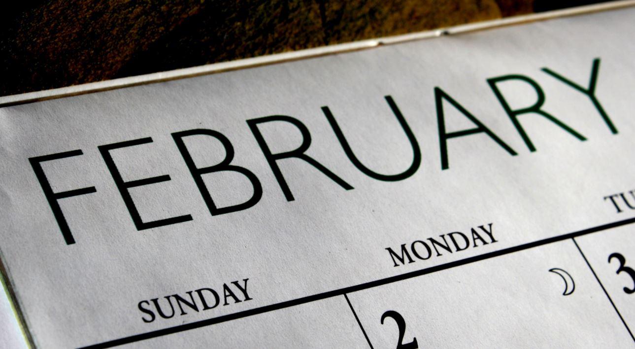 ¿Cuantos días tiene febrero?
