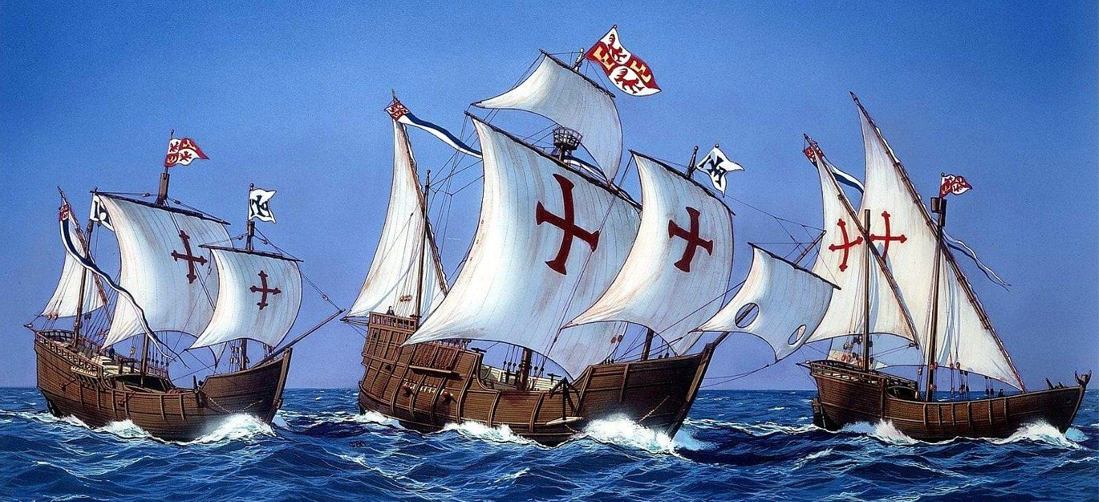 ¿Cuales eran las carabelas de Cristóbal Colón?