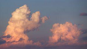 Pareidolia en las nubes