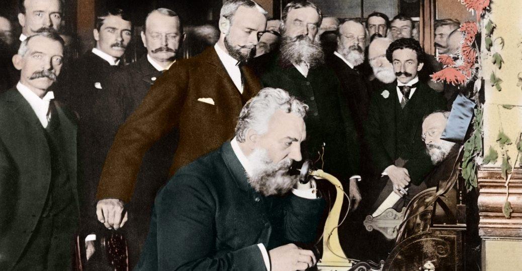 ¿Quién inventó el teléfono?