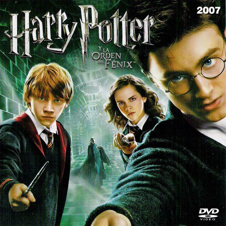 Carátula de Harry Potter y la orden del Fenix