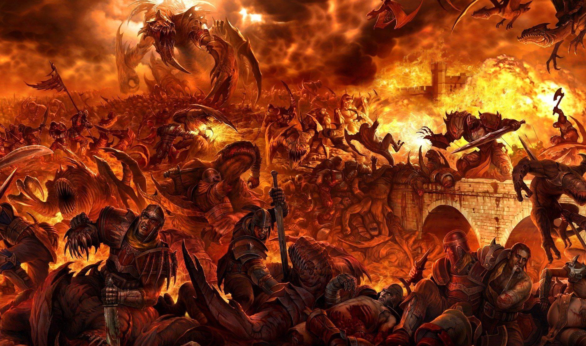 ¿Como es el infierno?