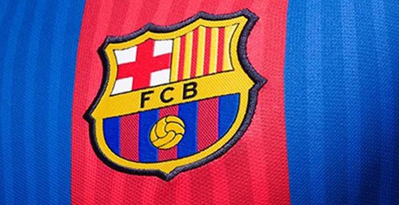 Escudo FC Barcelona en camiseta