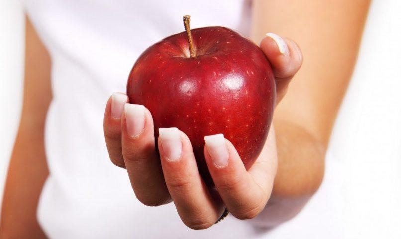 Manzana para comer sano