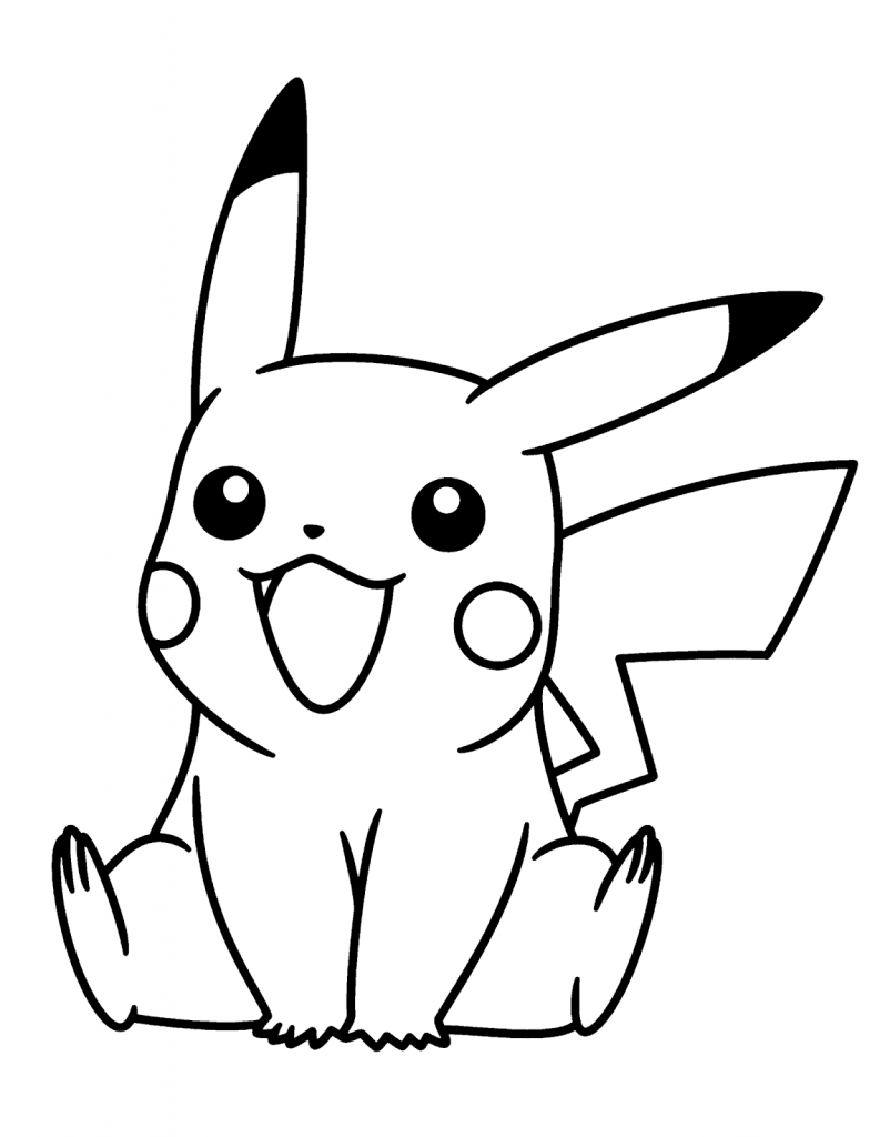 Dibujo de Pokémon para pintar