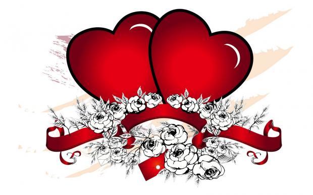 Dos corazones enamorados