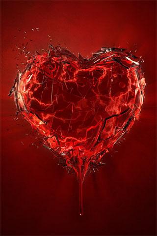 Un corazón roto