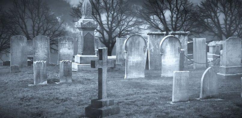Cementerio terrorífico