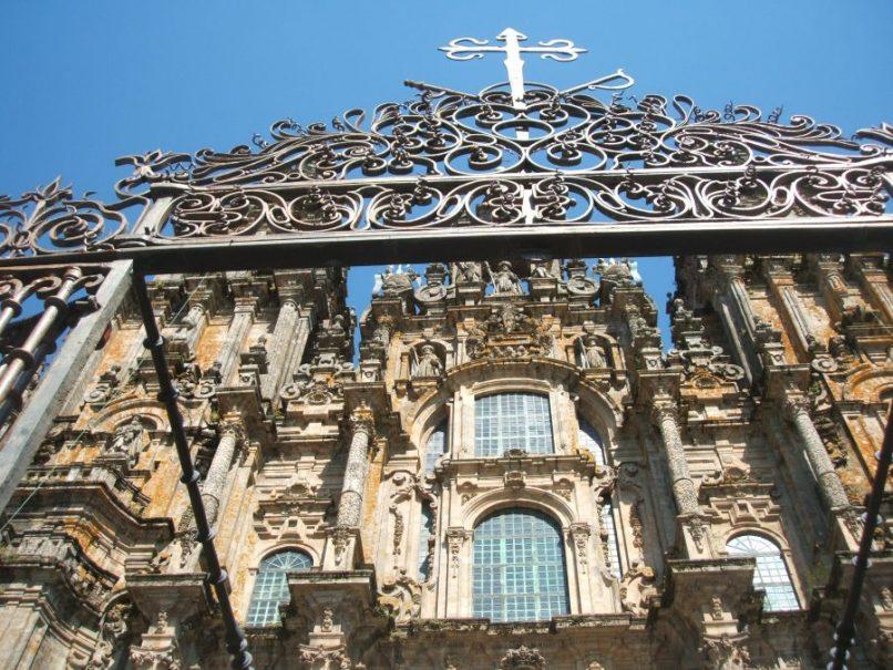 Fachada principal de la Catedral de Santiago