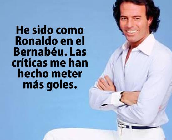 Frases de Julio Iglesias