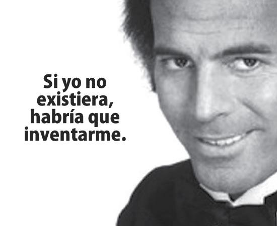 Julio Iglesias frase