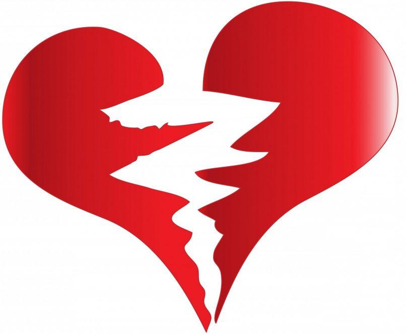 Un corazón destrozado