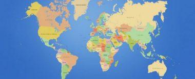 Mapa de los países