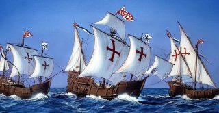 Las tres carabelas de Cristóbal Colón